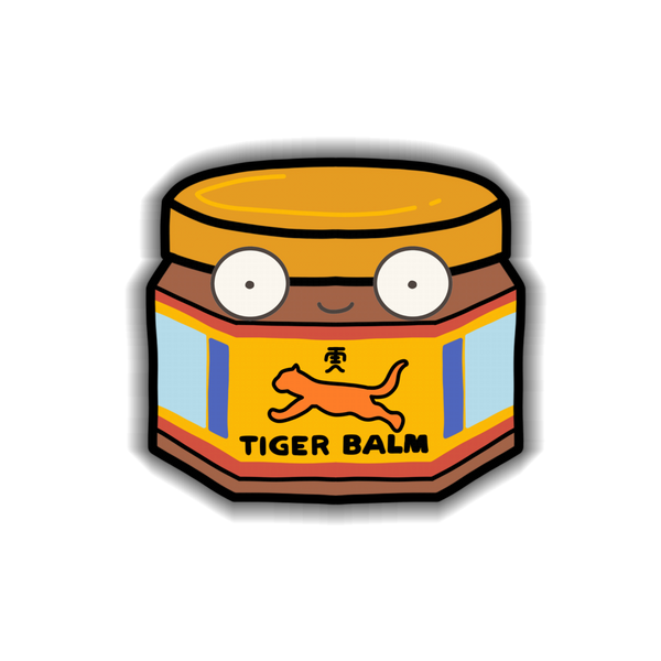 Tiger Balm Sticker