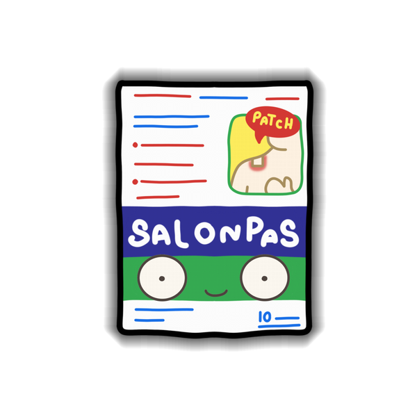 Salonpas Sticker