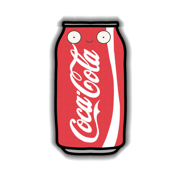 Coke Can Sticker