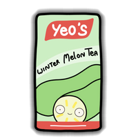 Yeos - Winter Melon Sticker