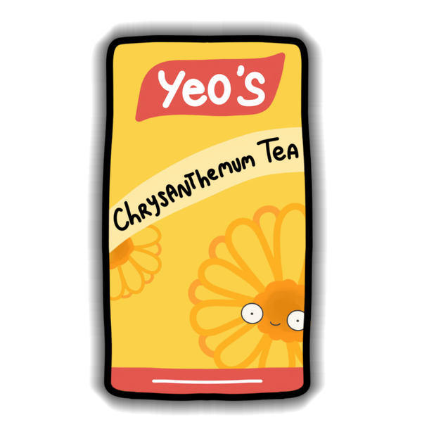 Yeos - Chrysanthemum Sticker