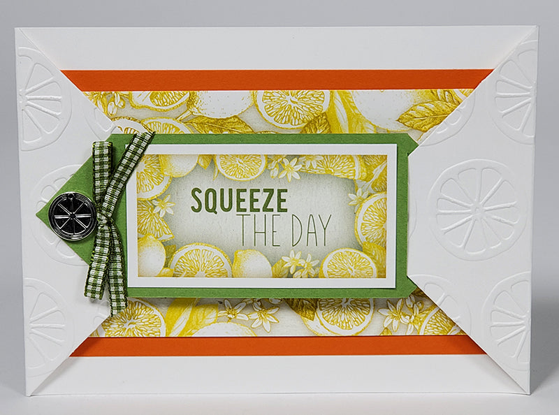 Zest for Life Card Kit by Club Scrap #clubscrap #efficientcarmaking