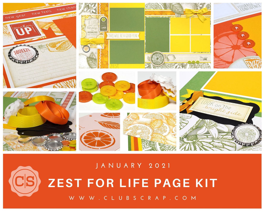 Zest for Life Page Kit Spoiler