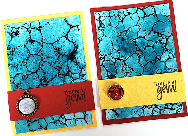 Turquoise ATCs (Artist Trading Cards) #clubscrap #atcs #artisttradingcards