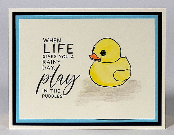 Rainy Day Stamps by Club Scrap #clubscrap #cardmaking #stamping