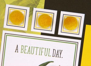 Daffodils Pages by Club Scrap #clubscrap #scrapbooking