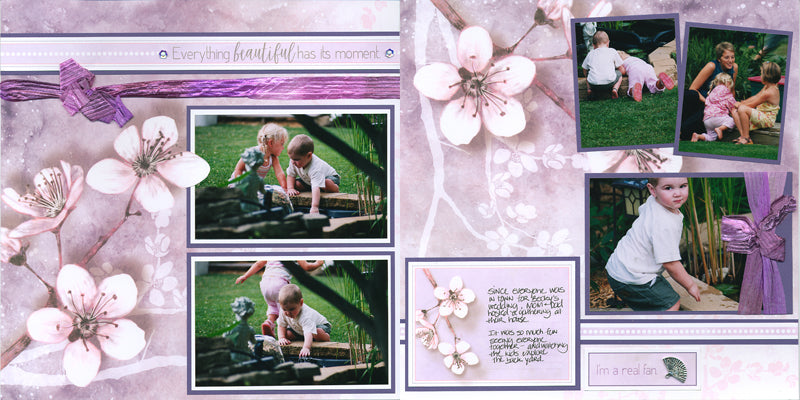 Cherry Blossoms Deluxe Pages