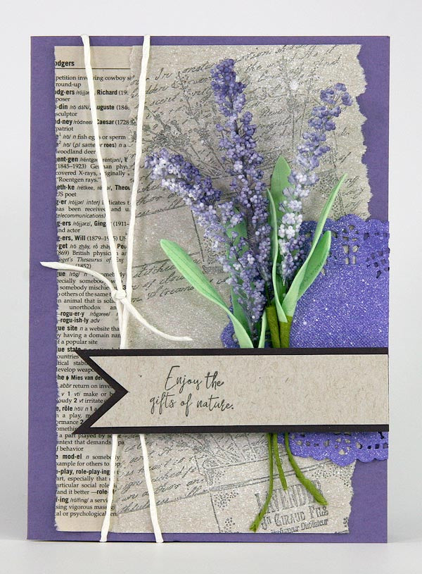 Cards Created With Club Scrap's Lavender Fields Stamps