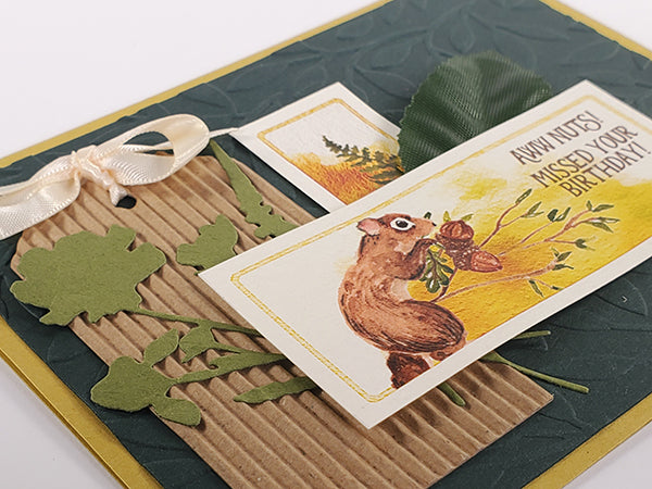 Forest Floor Card Kit by Club Scrap #clubscrap #cardmaking #cardkit
