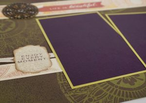 Club Scrap's Tapestry Pages #clubscrap #scrapbooking