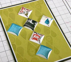 Paper Quilt Created With Scandinavia Club Stamp #clubscrap