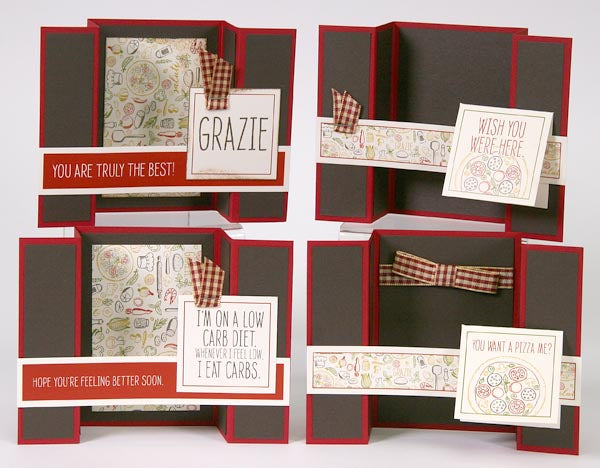 Trattoria Details - Greetings to Go #cardmaking #clubscrap