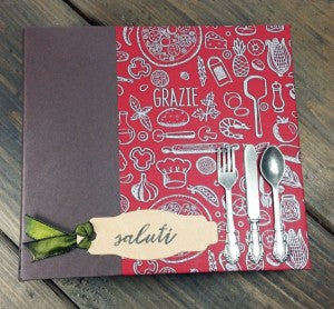 Trattoria Mini Recipe Binder