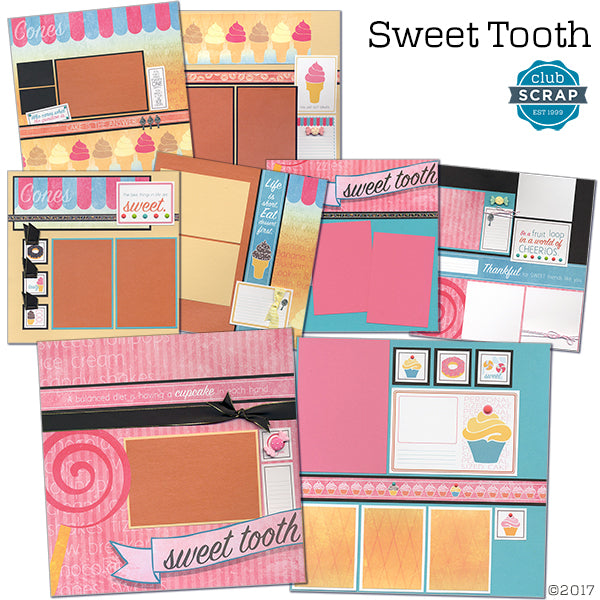 Sweet Tooth page kit
