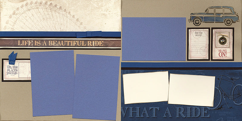 çRetreat Collection - What a Ride #clubscrap #scrapbooking