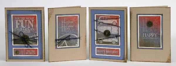 What a Ride Greetings to Go - Masculine cards