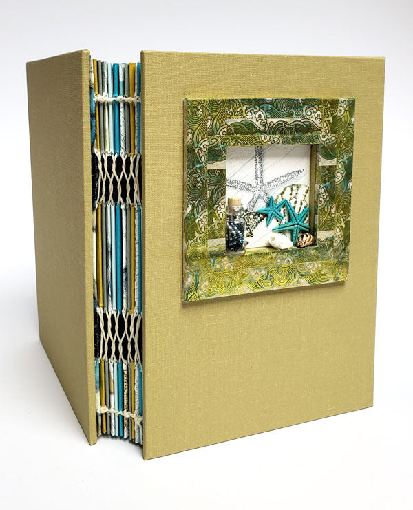 French Link Stitch Journal Instructions now available in the hybrid store. #clubscrap