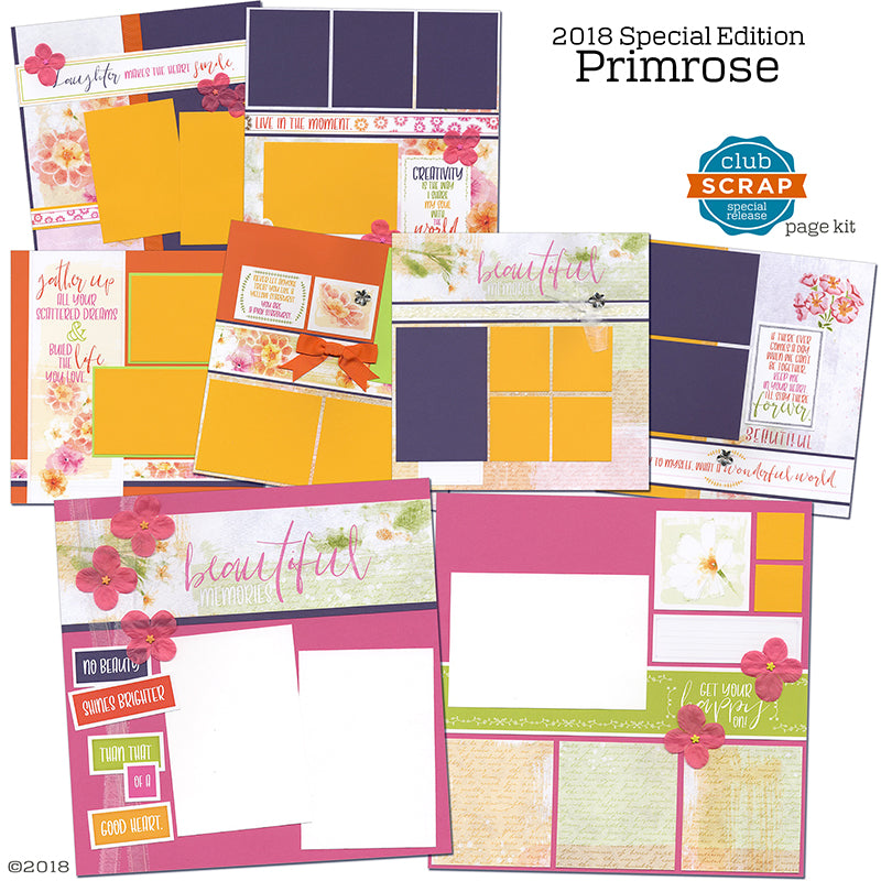 Primrose Pages #clubscrap #scrapbooking #kit