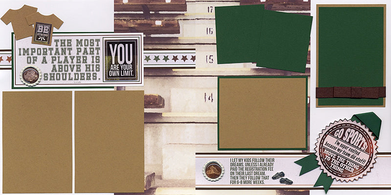 Field Sports Collection by Club Scrap #clubscrap #pagekit