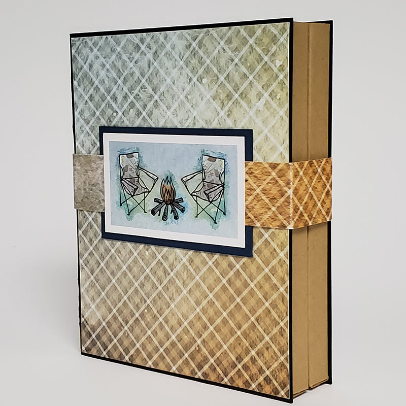 Notecard Carrier by Club Scrap - Instruction download and workshop video available! #clubscrap #handmadegift #cardmaking