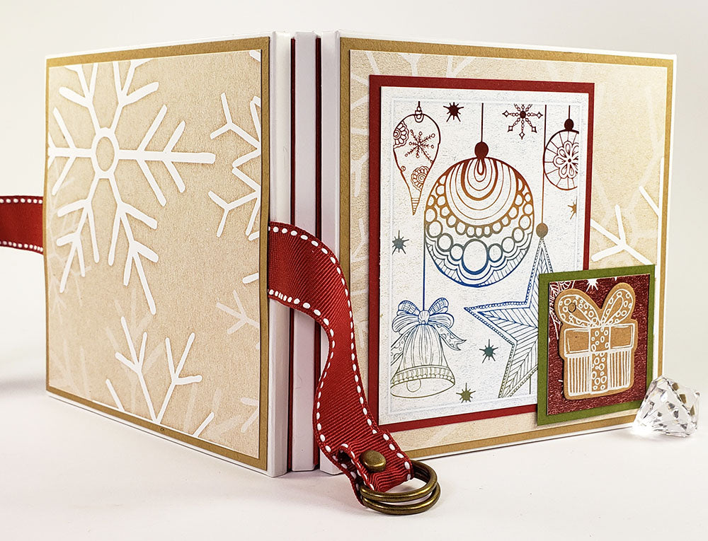 Christmas Market Triple Folio Book