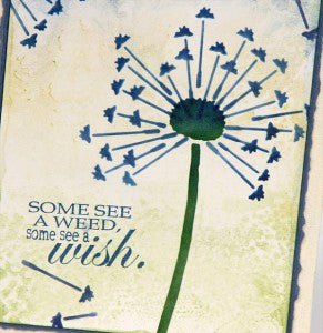 Mini Album Cover Created with Vintage Botany Stencil, #clubscrap #vintagebotany #stencil
