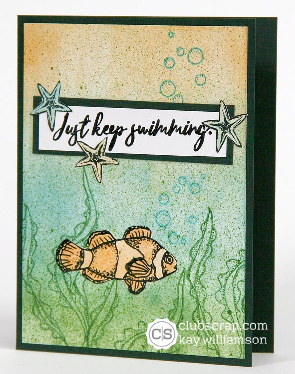 Cards created with Club Scrap's Lagoon Stamps #clubscrap #lagoon #mermaids #stamping
