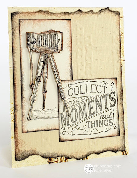 More Cards with the Photo Booth Collection #clubscrap #cameras #vintage