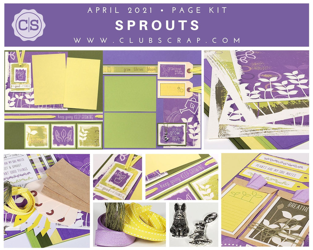 Sprouts Spoiler - Page Kit