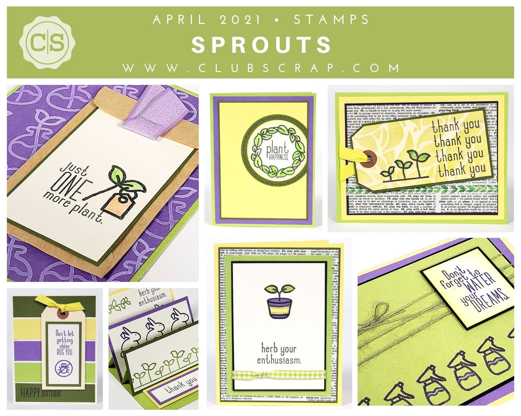 Sprouts Spoiler - Stamps