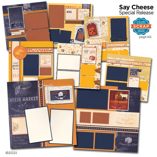 Say Cheese Page Kit by Club Scrap