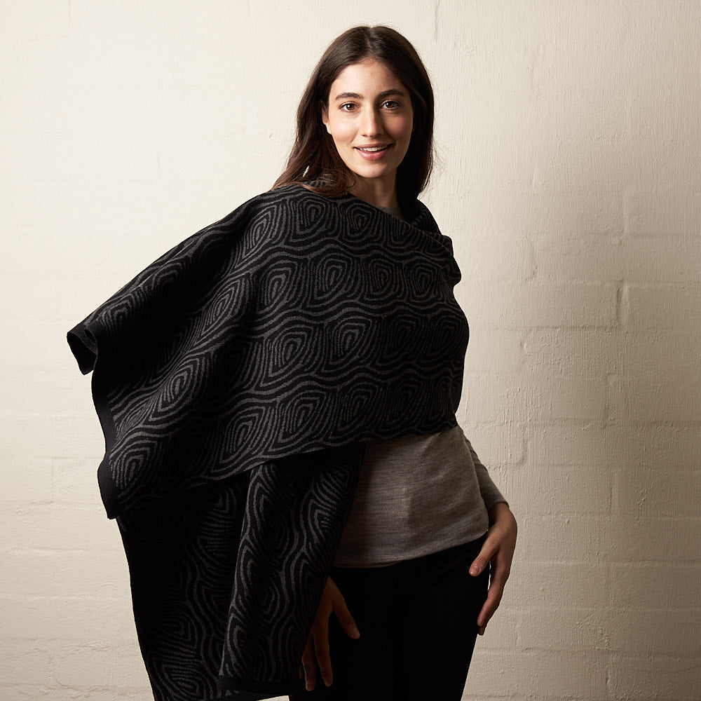 Knit Pattern Wrap