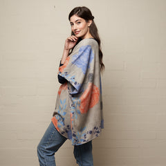 Blooms Poncho