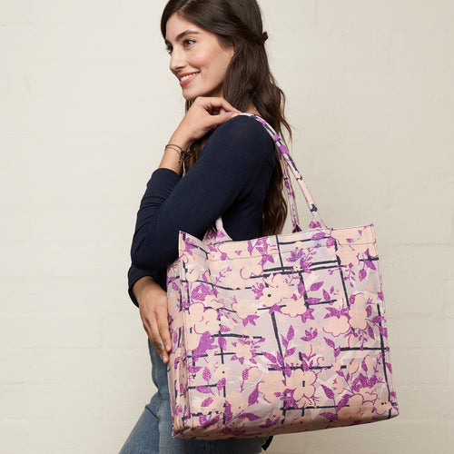 Climbing Roses Grab + Go Tote