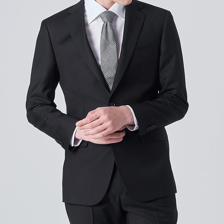 F/W Premium Regular Fit Suit Black
