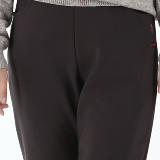 Women's Bird Embroidery Fleece-lined Pants(새 자수 한국기모바지)