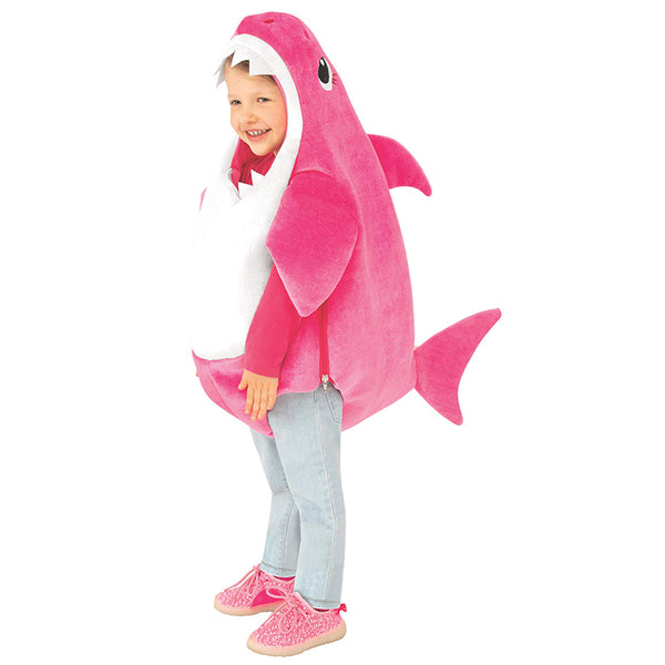 Kid's Mommy Shark Costume with Sound Chip