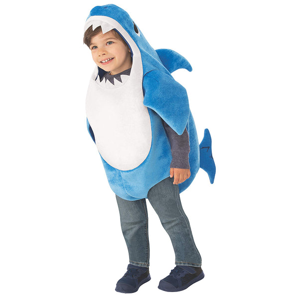 Kid's Daddy Shark Costume with Sound Chip