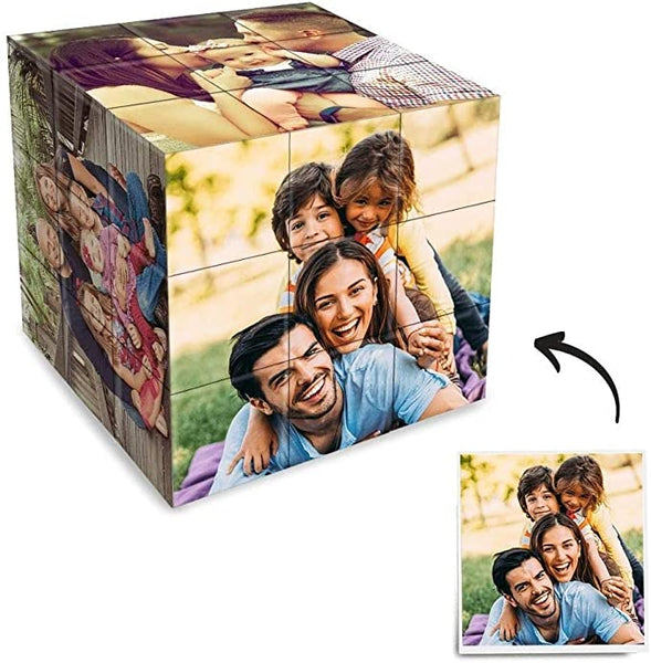 Custom Photo Cube for Pictures