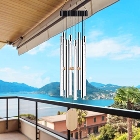 Solar Wind Chimes Light Outdoor, Wind Chimes with Colorful Light