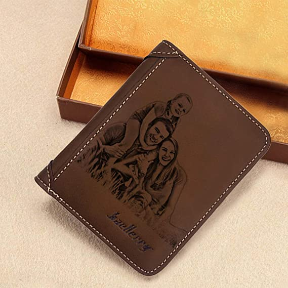 Personalized Photo Wallet for Men