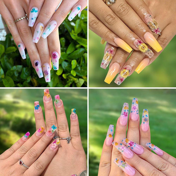 Dried Flowers for Nail Art