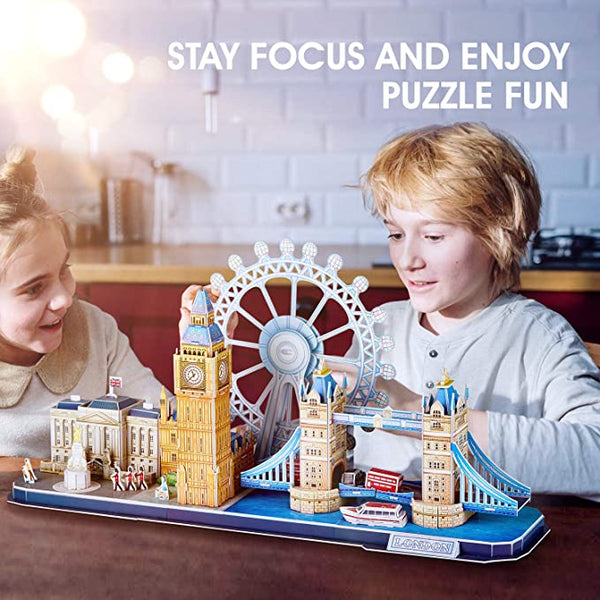 Wooden 3D puzzle for adult, kids
