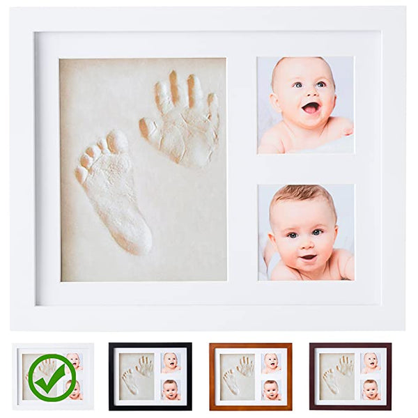 Baby Picture Frame, Baby Handprint, Footprint kit