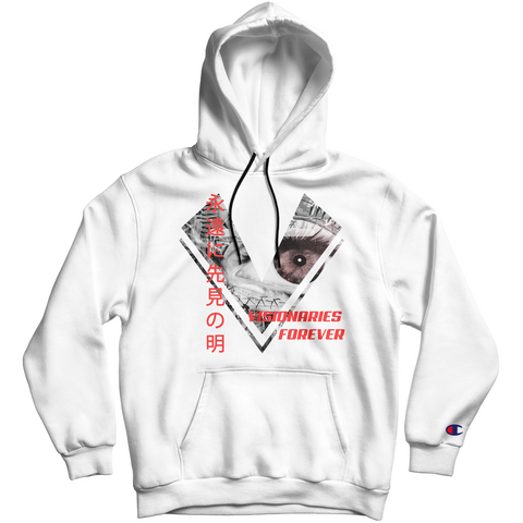 "The ""CULTURE VISIONARY"" Hoodie (White)"