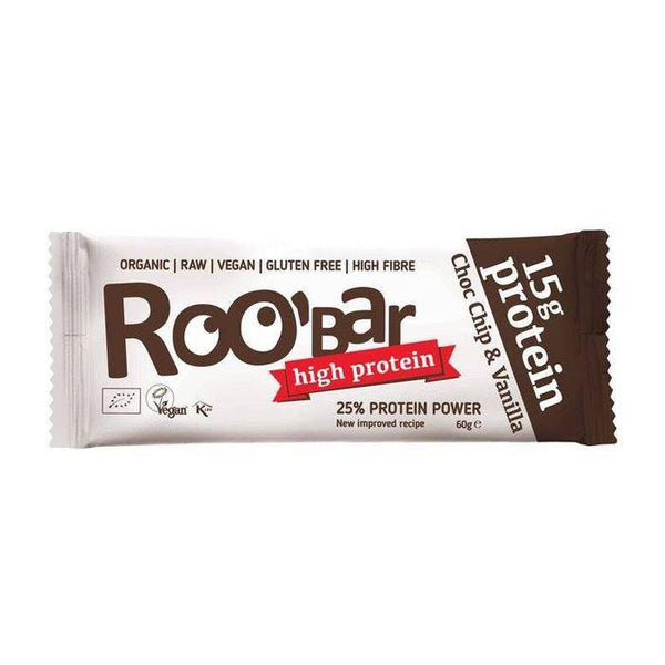 Barra Alta en Proteina Snacks y Chocolates Roo' Bar