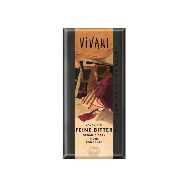 Chocolate Feine Bitter 71% Cacao Snacks y Chocolates Vivani