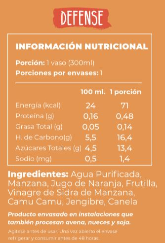 Defense Superbatido Alimentos Saludables Positive