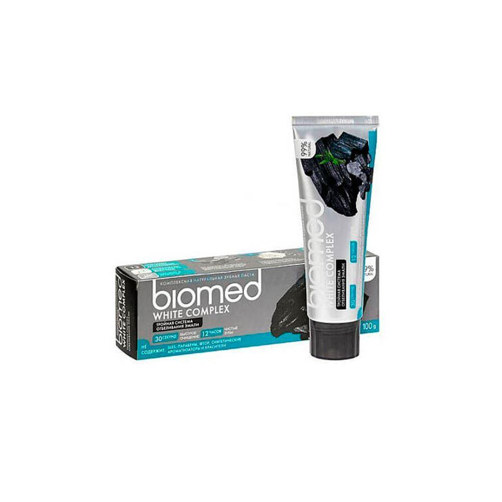 Pasta Dental Charcoal Cuidado Personal Biomed