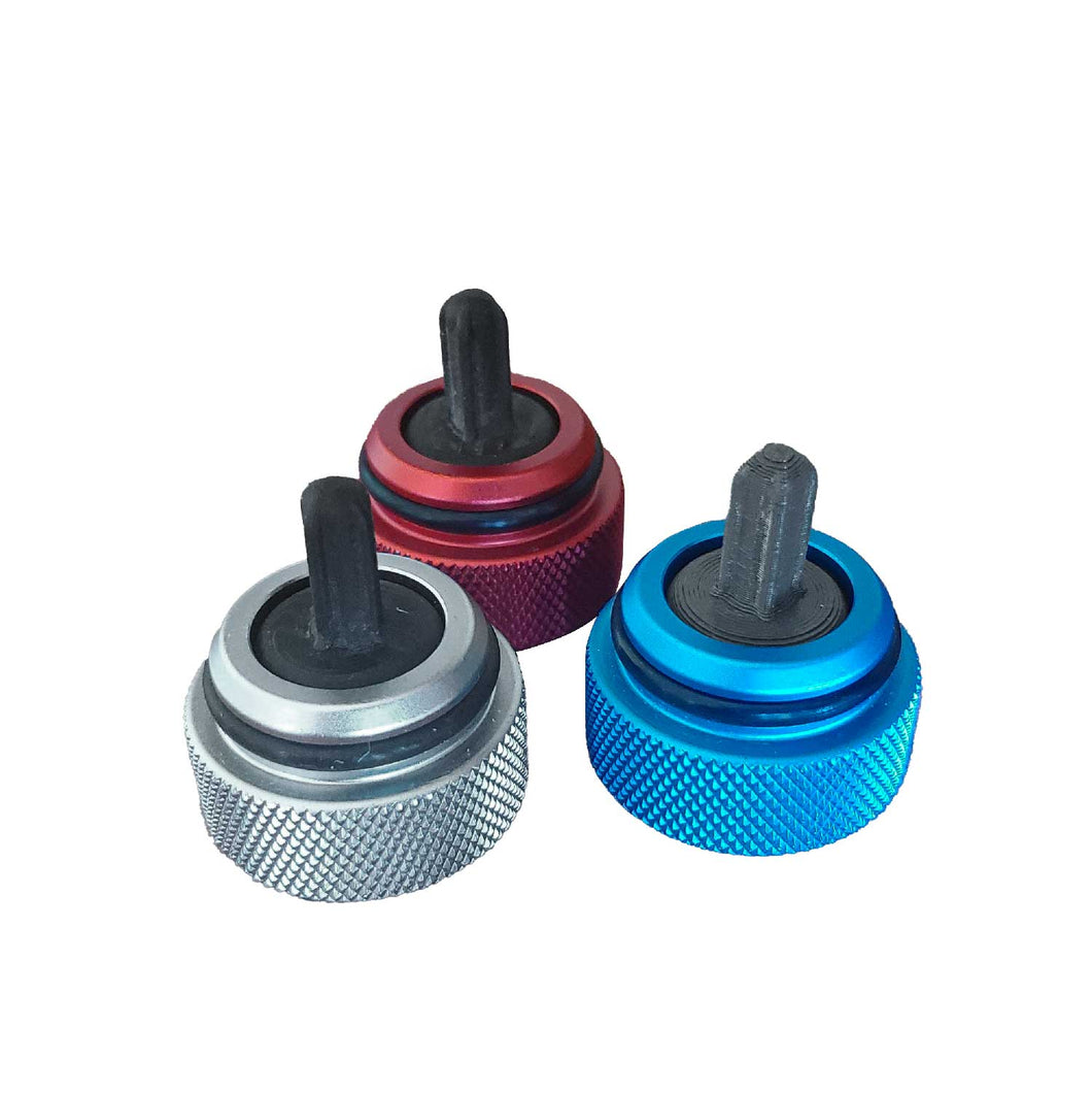 Aluminum Cap & Spindle [Replacement Part]